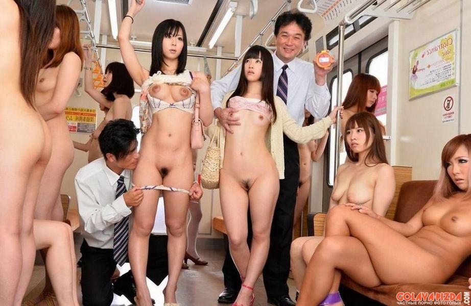 японские секс в метро говорю, давайте